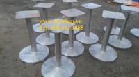 Chân bàn inox tròn