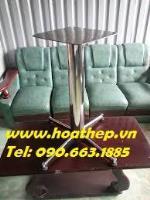 Chân bàn inox chữ thập